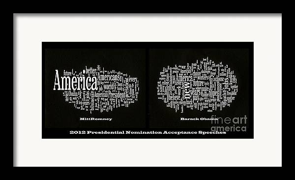 Acceptance Speeches Framed Print featuring the photograph Acceptance Speeches by David Bearden