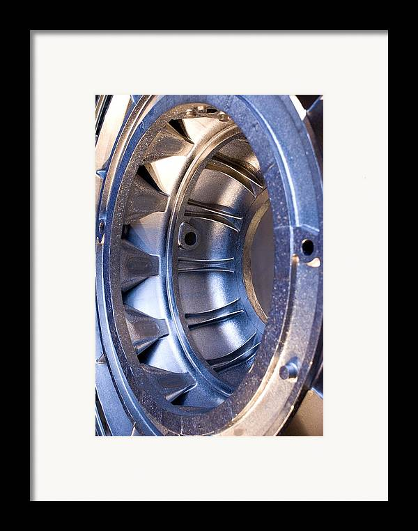 Aerospace Framed Print featuring the photograph Aluminium Aircraft Component by Mark Williamson