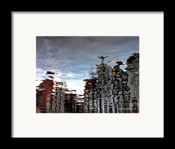 Amsterdam Framed Print featuring the photograph Amsterdam Reflections by Andy Prendy