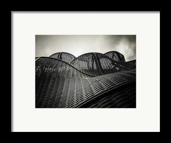 Architecture Framed Print featuring the photograph Artistic Curves by Lenny Carter