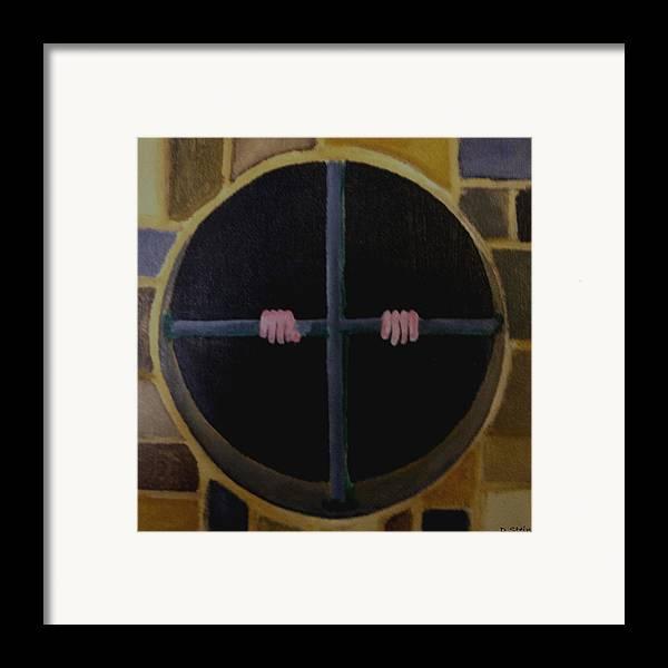 Aubliette Framed Print featuring the painting Aubliette by Darren Stein