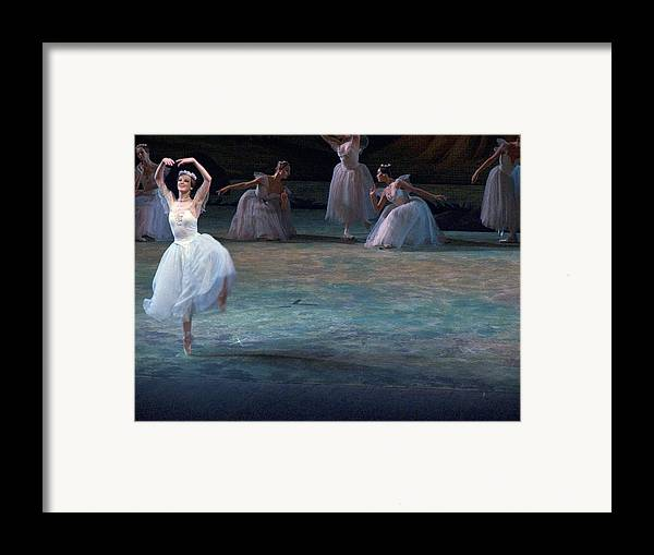 Commonwealth Of Independent States Framed Print featuring the photograph Ballerinas At The Vaganova Academy by Richard Nowitz
