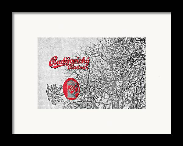 Alcoholic Framed Print featuring the photograph Budweis Czech Republic - 700 Years Of Brewing Tradition by Christine Till