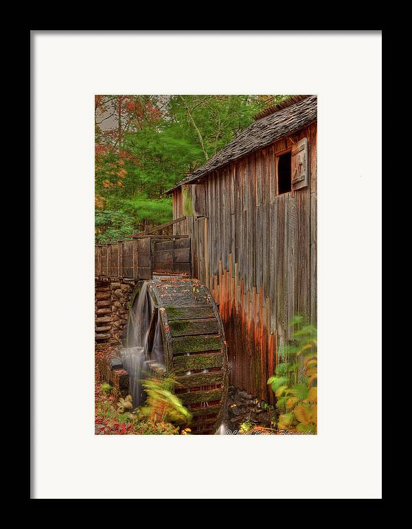 2010 Framed Print featuring the photograph Cable Mill II by Charles Warren