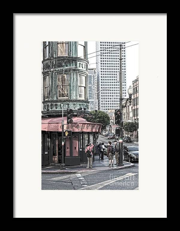 San Francisco Framed Print featuring the photograph Cafe Zoetrope by Artist and Photographer Laura Wrede