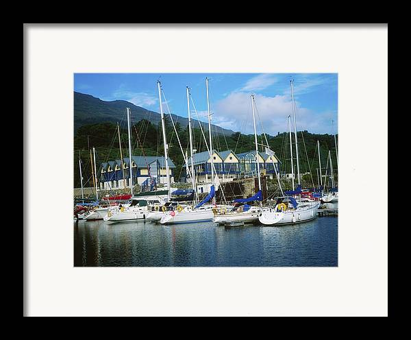 Ireland Framed Print featuring the photograph Carlingford Marina, Carlingford, County by The Irish Image Collection