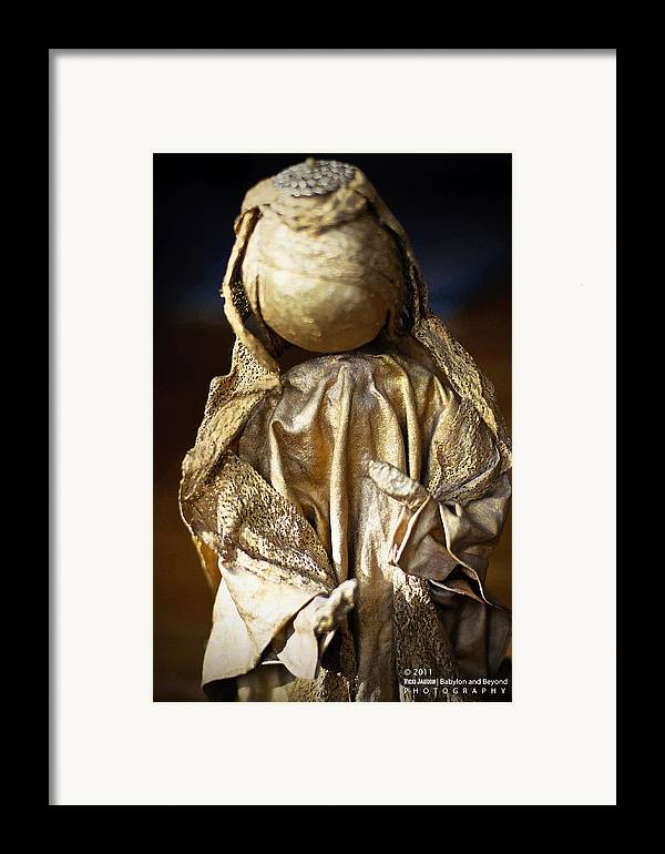 Angel Framed Print featuring the photograph Christmas Angel by Vicki Jauron