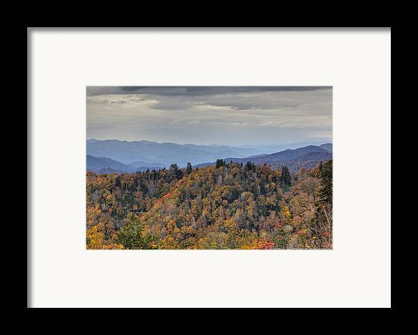 Clingmans Dome Framed Print featuring the photograph Clingman's Dome IIi by Charles Warren