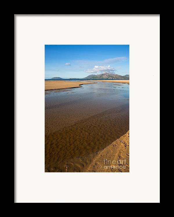 Coast Framed Print featuring the photograph Coastal View Ireland by Andrew Michael