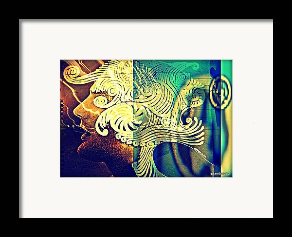 Life Framed Print featuring the digital art Confused Meanderings by Paulo Zerbato