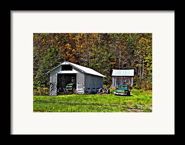 West Virginia Framed Print featuring the photograph Country Life by Steve Harrington