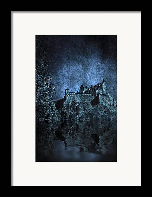 Abbey Framed Print featuring the photograph Dark Castle by Svetlana Sewell