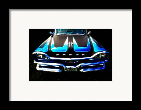 Dodge Framed Print featuring the photograph Dodged by Phil 'motography' Clark