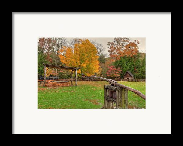 2010 Framed Print featuring the photograph Farm Iv by Charles Warren