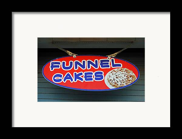 Fair Framed Print featuring the photograph Funnel Cakes by Skip Willits