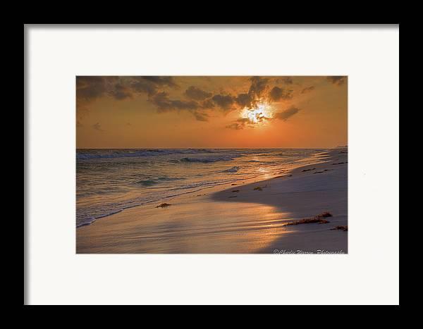Sunset Framed Print featuring the photograph Grayton Beach Sunset 7 by Charles Warren