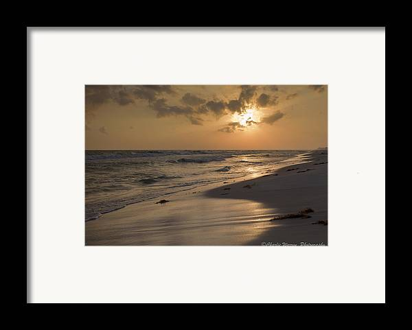 Sunset Framed Print featuring the photograph Grayton Beach Sunset by Charles Warren