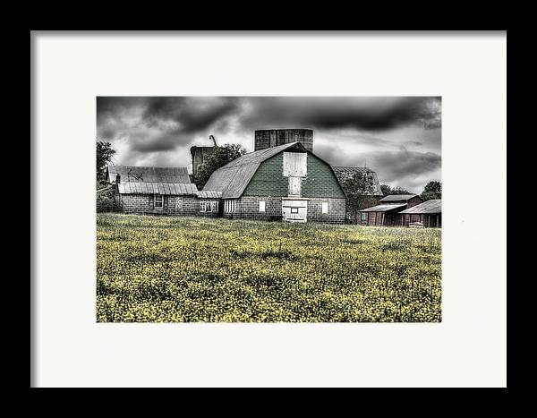 Grey Scale Framed Print featuring the photograph Grey Scale by JC Findley