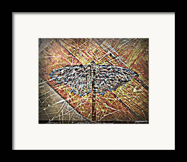 Illusory Appearances Framed Print featuring the digital art Illusory Appearances by Paulo Zerbato