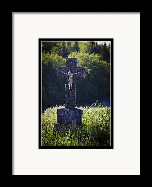 Peace Framed Print featuring the photograph It Is Accomplished by Axko Color de paraiso
