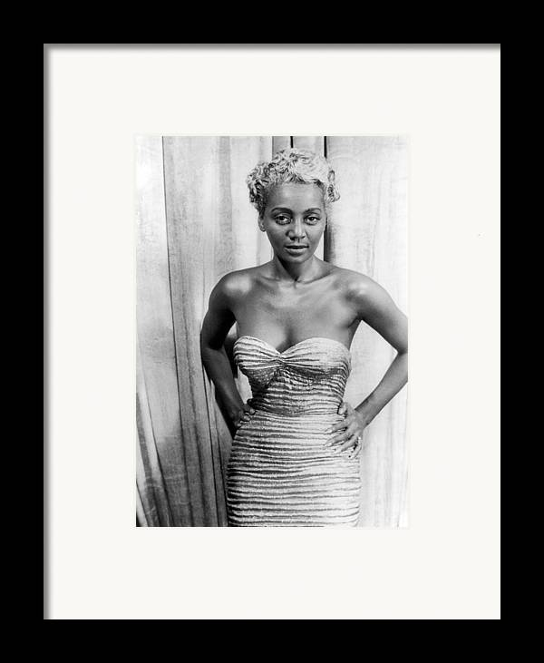 1953 Framed Print featuring the photograph Joyce Bryant, 1953 by Granger