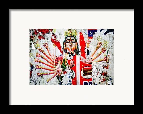 Kali Framed Print featuring the photograph Kaliyuga by Dev Gogoi