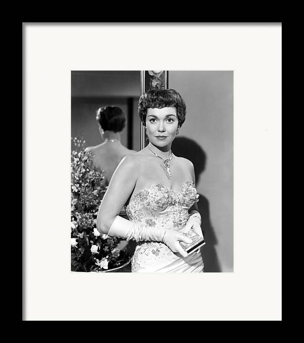 1940s Portraits Framed Print featuring the photograph Lets Do It Again, Jane Wyman, 1953 by Everett