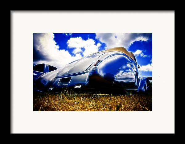 Ford Framed Print featuring the photograph Low Ford Roadster by Phil 'motography' Clark