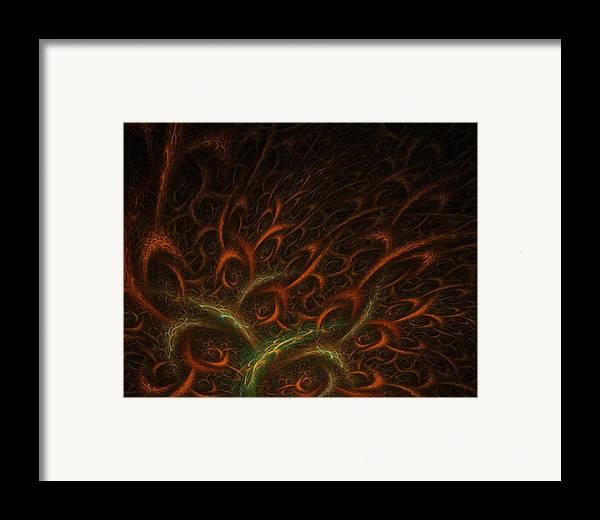 Abstract Digital Art Framed Print featuring the photograph Medusa by Lourry Legarde