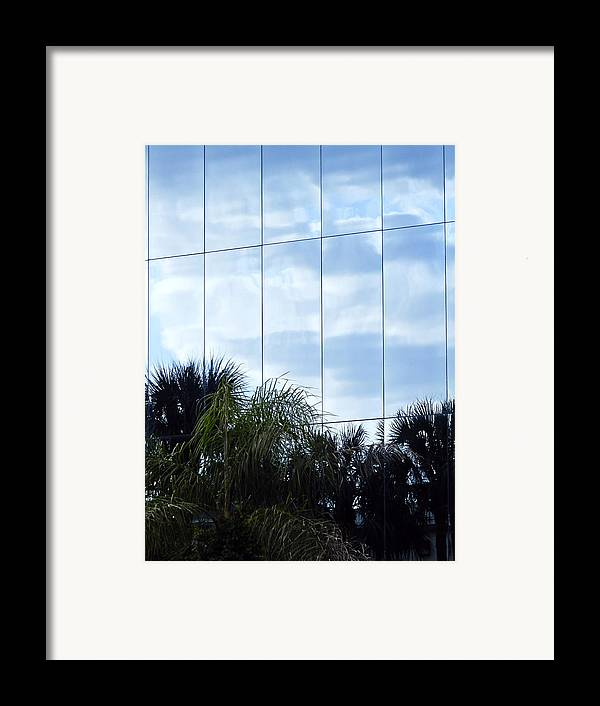 Architectur Framed Print featuring the photograph Mirrored Facade 1 by Stuart Brown