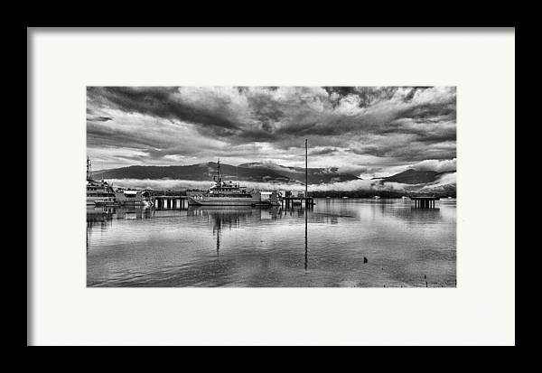 Military Framed Print featuring the photograph Navy Lookout by Douglas Barnard