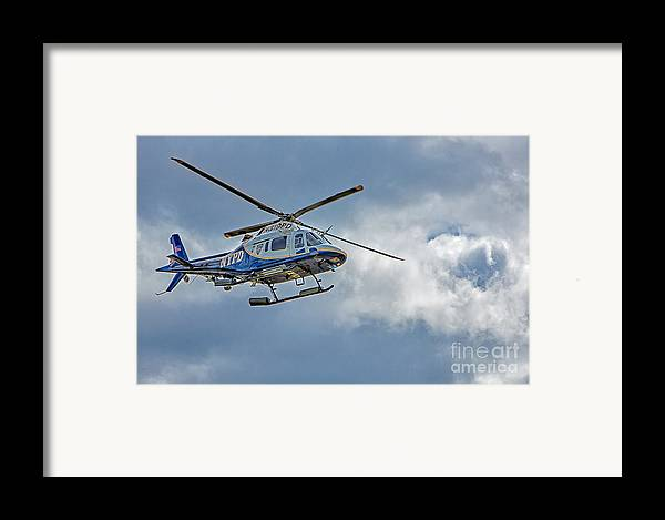 Nypd Framed Print featuring the photograph Nypd by Susan Candelario