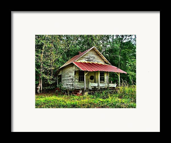 Abandoned Housese Framed Print featuring the photograph Old Florida Vi by Julie Dant