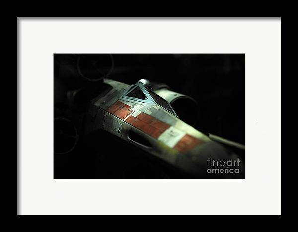 X-wing Framed Print featuring the photograph Original X-wing by Micah May