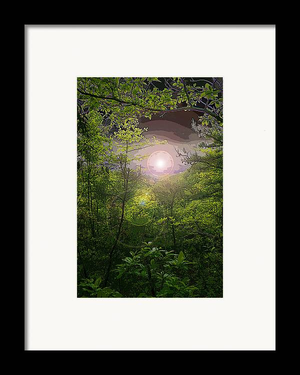 Pm Framed Print featuring the photograph Paradise At Dawn by Nina Fosdick