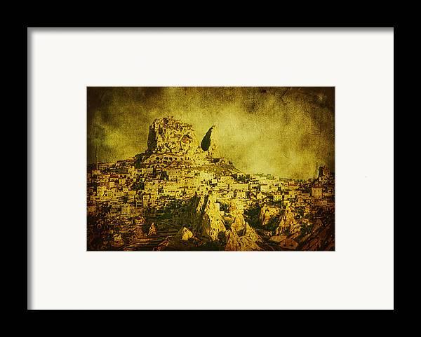 Cappadocia Framed Print featuring the photograph Persian Empire by Andrew Paranavitana