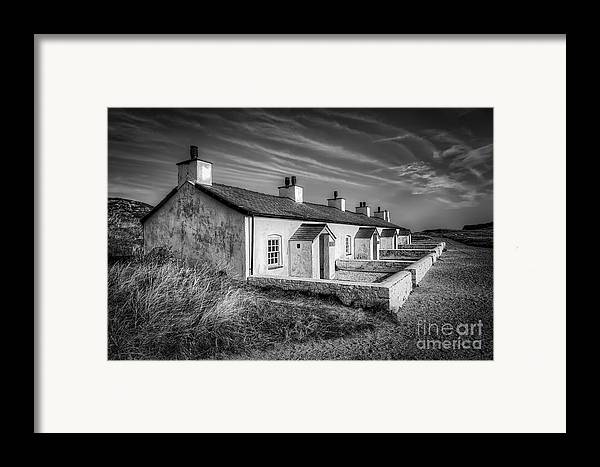 Anglesey Framed Print featuring the photograph Pilot Cottages by Adrian Evans