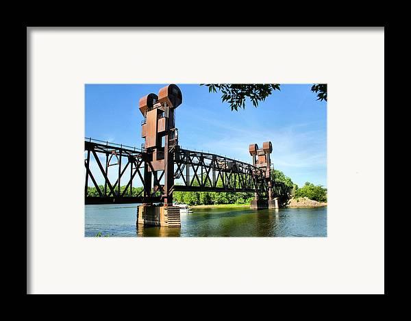 Prescott Framed Print featuring the photograph Prescott Lift Bridge by Kristin Elmquist