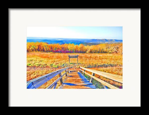 Queen Wilhelmina State Park Framed Print featuring the photograph Queen Wilhelmina State Park by Douglas Barnard