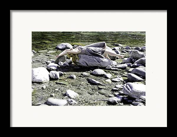 Young Framed Print featuring the photograph Relax by Joana Kruse