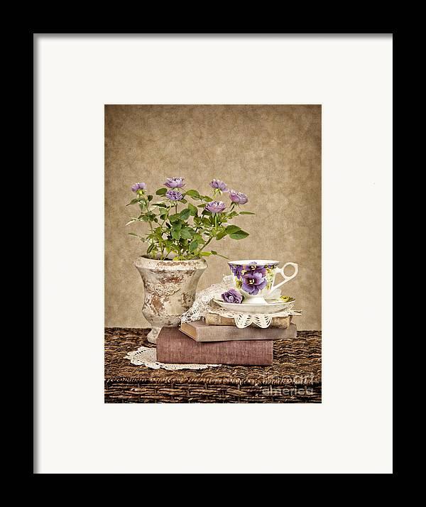 Teacup Framed Print featuring the photograph Simple Pleasures by Cheryl Davis