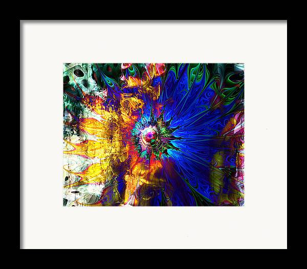 Digital Art Framed Print featuring the digital art Souls United by Amanda Moore