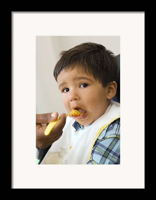 Food Framed Print featuring the photograph Spoon-feeding by Ian Boddy