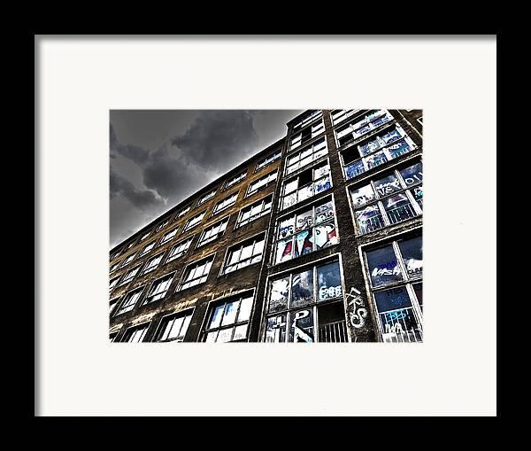 Europe Framed Print featuring the photograph Stralauer Platz 29 - 31 by Juergen Weiss