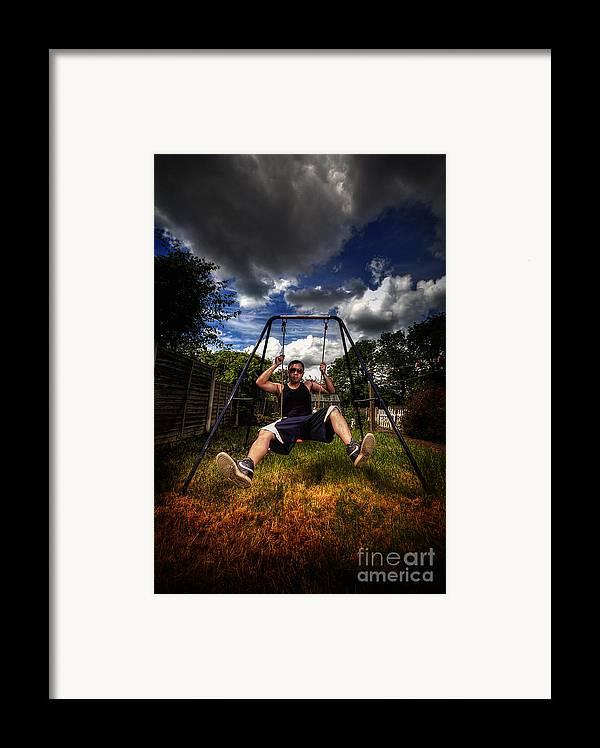Yhun Suarez Framed Print featuring the photograph Swinger by Yhun Suarez