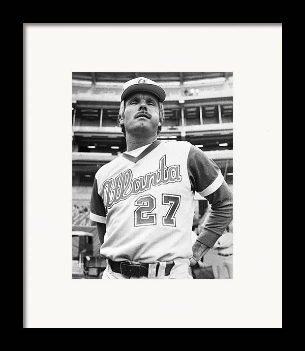 1977 Framed Print featuring the photograph Ted Turner (1938- ) by Granger