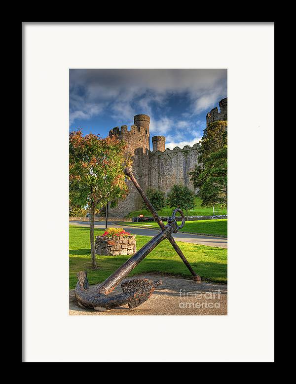 Ancient Framed Print featuring the photograph The Anchor by Adrian Evans