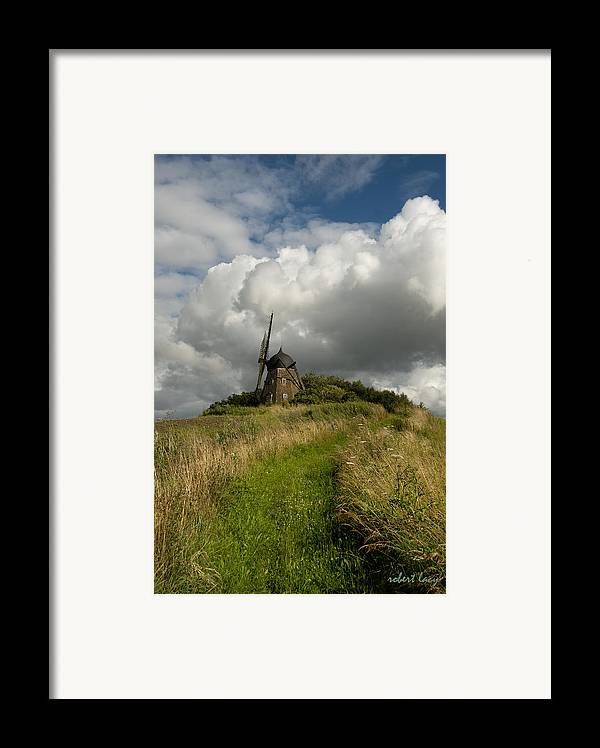 Windmill Framed Print featuring the photograph The Mill At Aarup by Robert Lacy