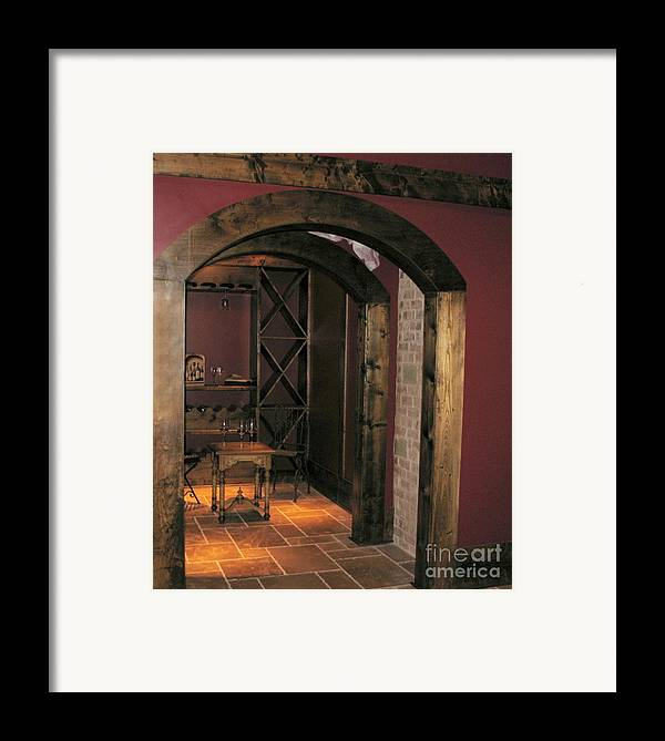 Wine Framed Print featuring the photograph To The Wine Cellar by Renee Trenholm