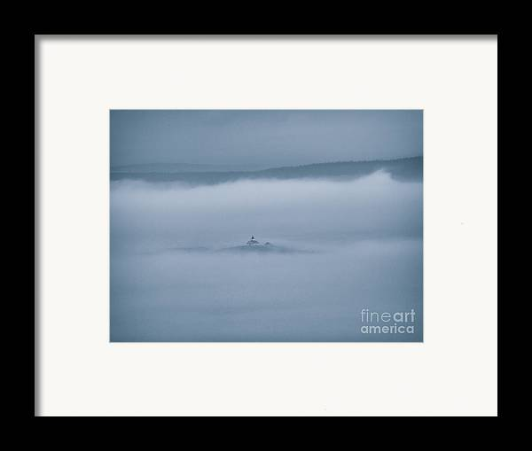 Acadia National Park Framed Print featuring the photograph Utopia by Venura Herath